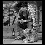 Man and a Dog