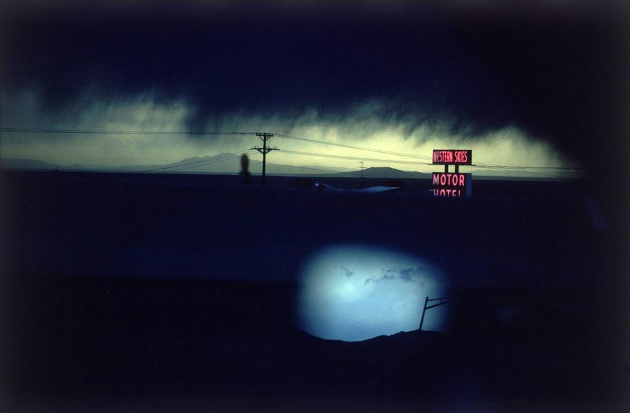 Ernst Haas: Western Skies Motel