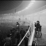 Posle koncerta Erika Kleptona, Beogradski sajam, januar 1984.