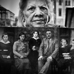 Fotografija je snimljena u Resavskoj ulici u avgustu 2011. godine. Na fotografiji je gospodja koja ima 87 godina sa svojom fotografijom u sredini na kojoj ima 10 godina. Gospodja je umrla 2014. godine.