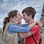 Fotografija je snimljena na Beogradskom maratonu 22. aprila 2012. godine, kao spontani trenutak.