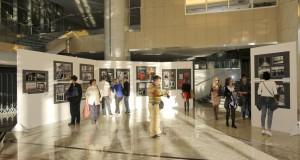 Izlozbeni prostor Narodne Banke Srbije u kojoj je izlozena Republicka Izlozba Fotografija