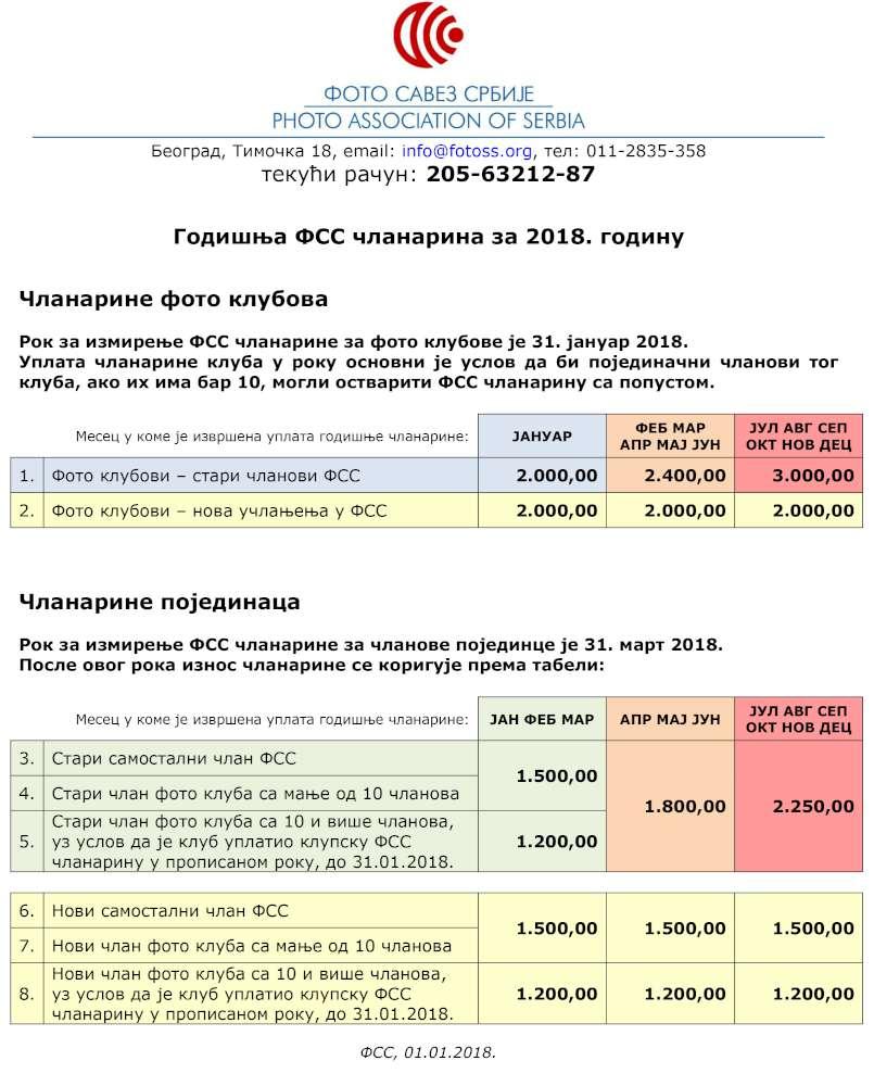 2018-01-01 FSS clanarina 2018-1000