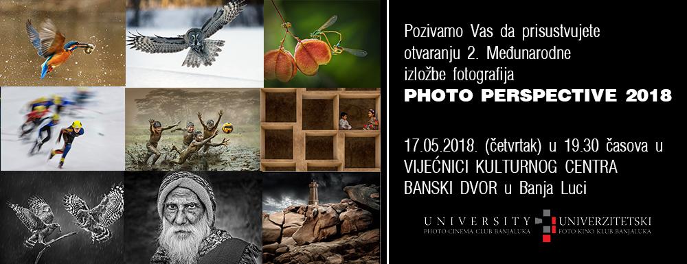 Pozivnica - PHOTO PERSPECTIVE 2018