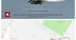 Pozivnica za Izložbu Gordana Pomorišca_sa mapom