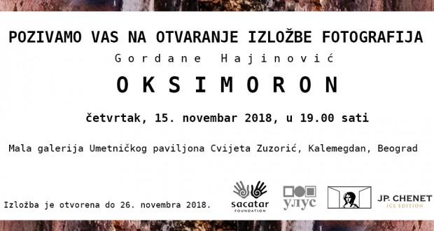 Pozivnica za otvaranje- Gordana Hajinovic