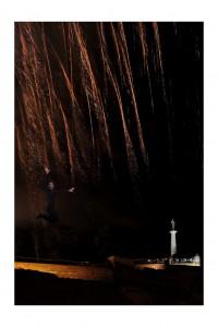 Fireworks Curtain